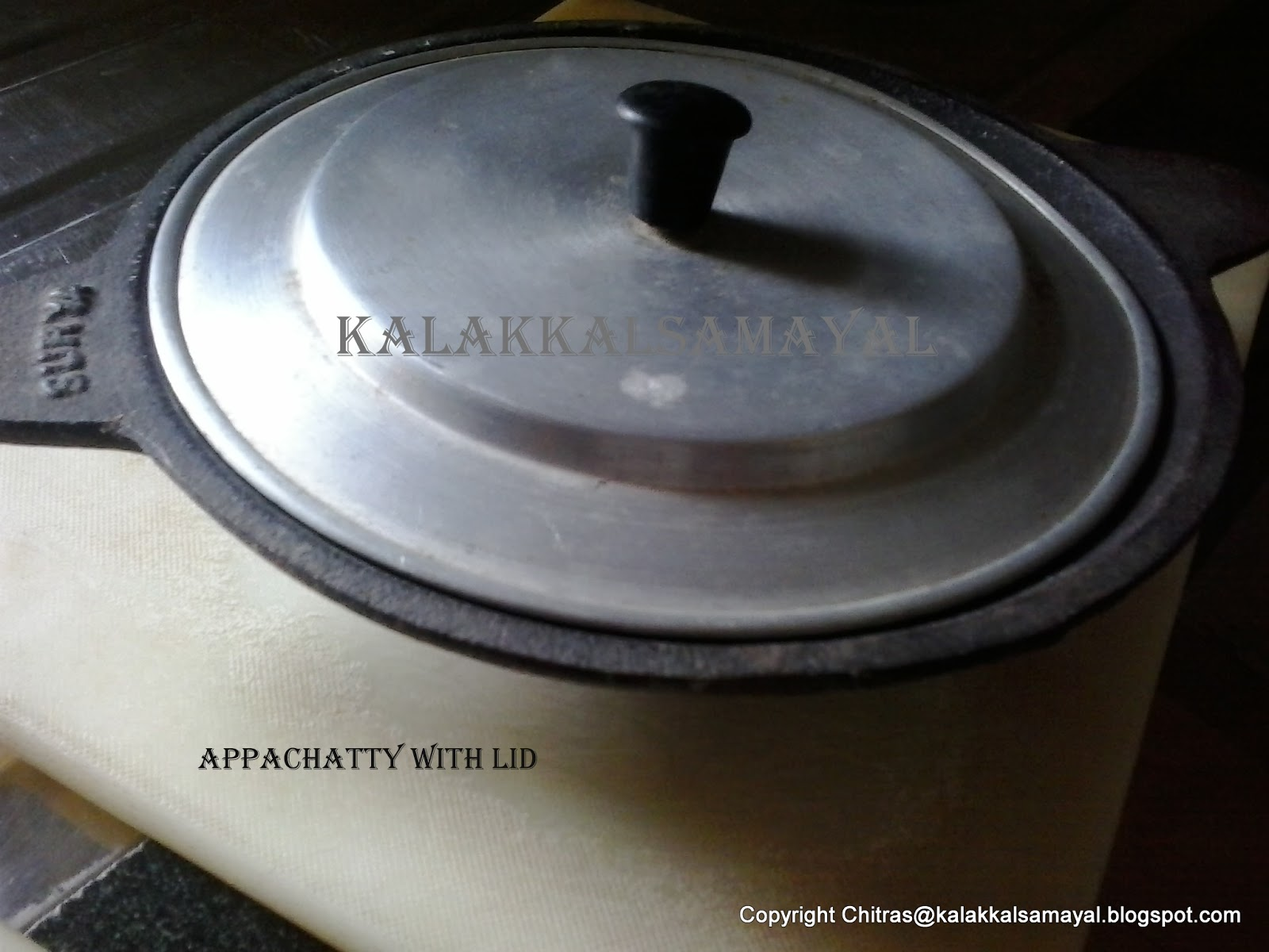 how to make appam batter