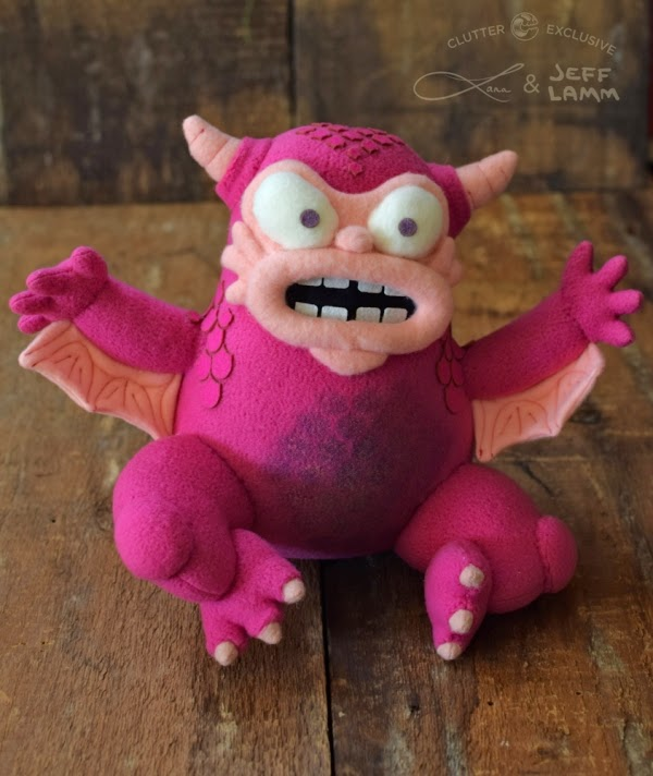 New York Comic Con 2014 Exclusive Greasebat Plush by Jeff Lamm x Lana Crooks