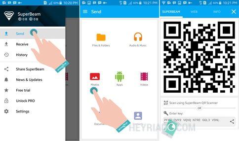 Mengirim File Besar Di Android
