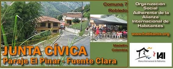 JUNTA CIVICA EL PINAR (Fuente Clara, Robledo - Medellín, Colombia)