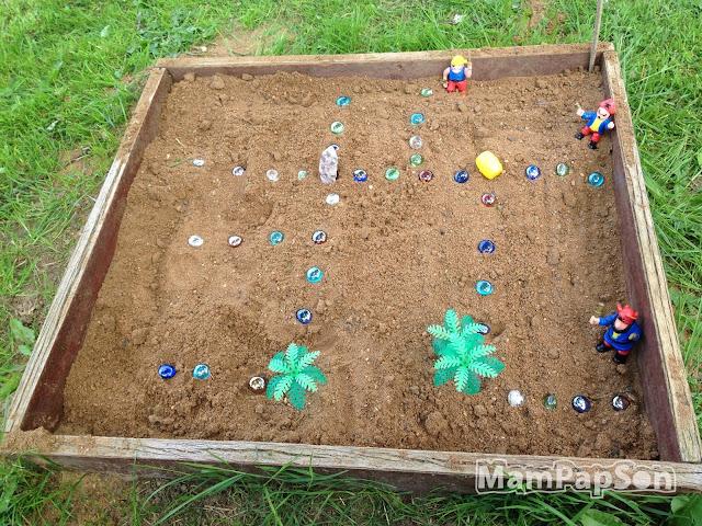 Поиск клада в песочнице