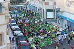 Marea Verde Roquetas (Almería)