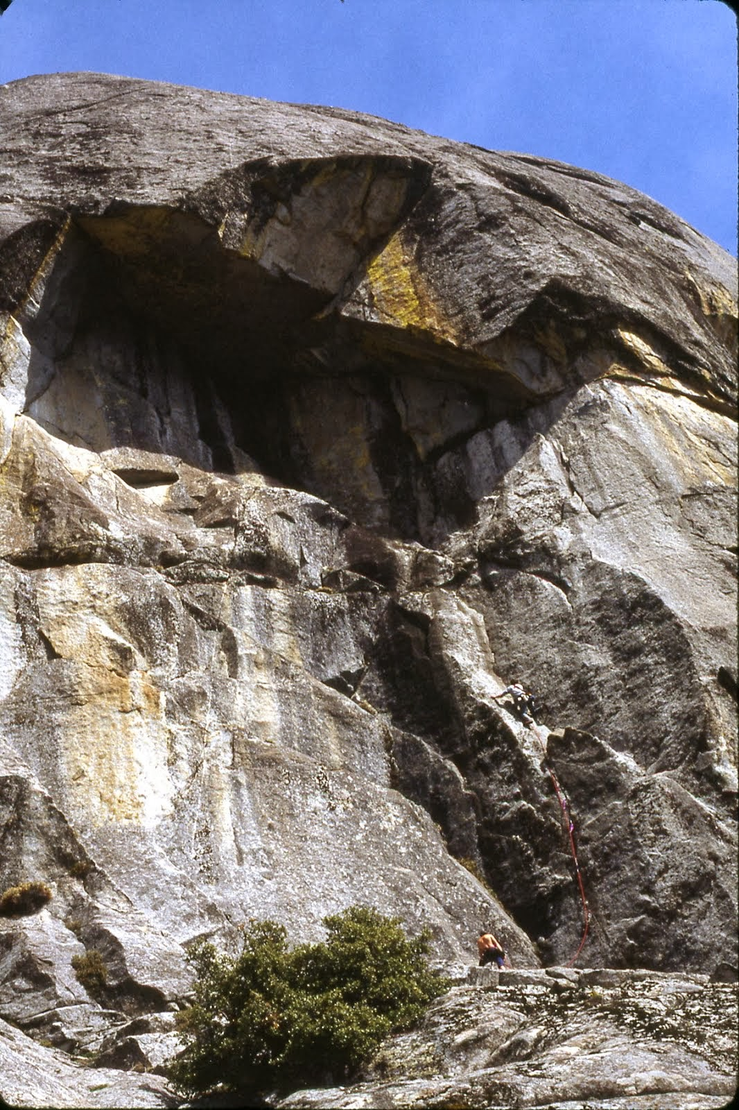 FA 'Falling Ice' West Face