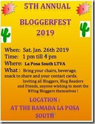 BloggerFest 2019