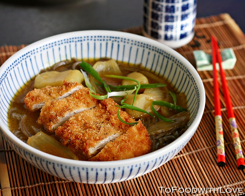 To Food With Love Chicken Katsu Curry Soba