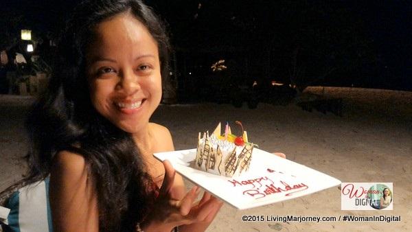 Birthday Cake from Club Paradise Palawan