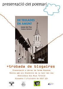 Presentació i trobada blogaire a Torelló