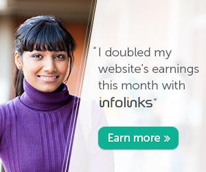 Earn from infolinks