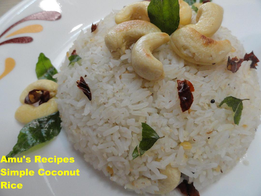 Coconut rice is very popular dish from the South Indian state Kerala ...