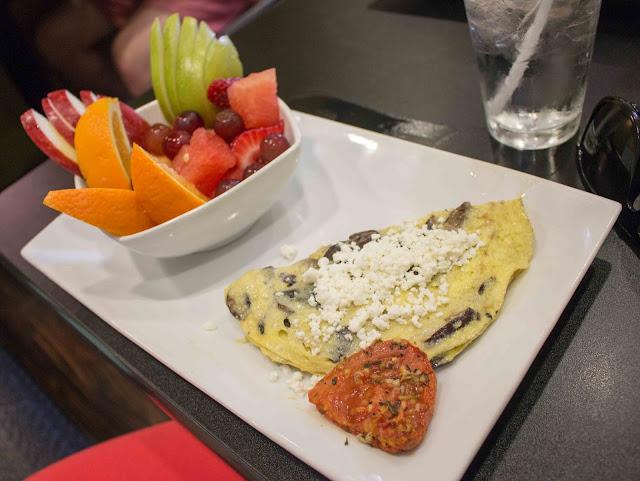 Waffles Incaffeinated - Mushroom Chevre O-My-Lette