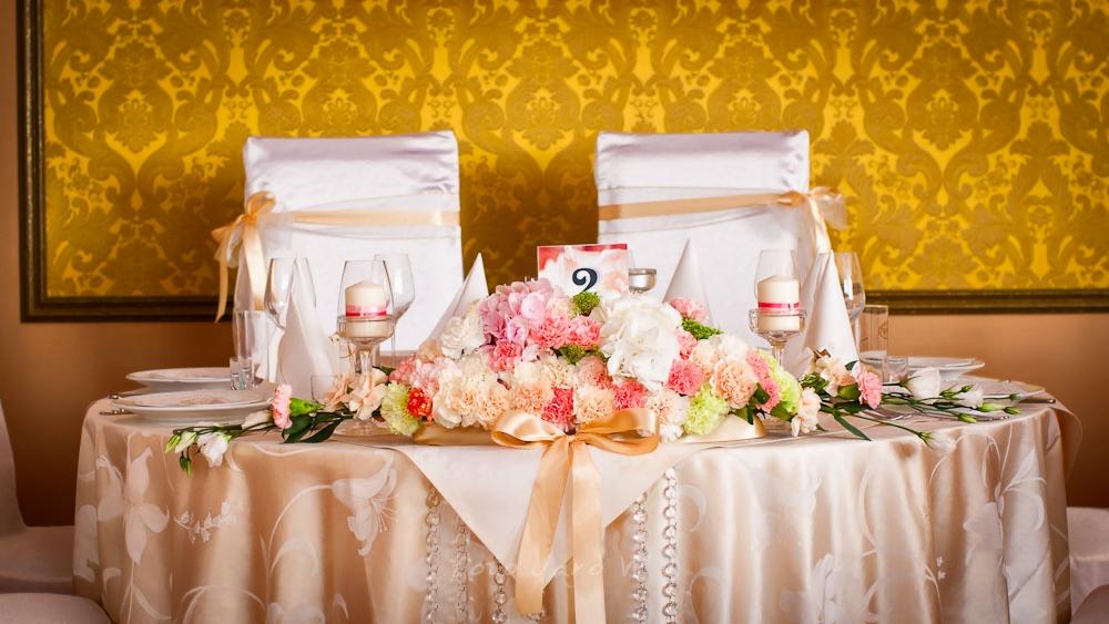 Sala Weselna Łuków Bajeczna ~ Sala weselna Park Hotel Świdnica pastelowe dekoracje kwiatowe
