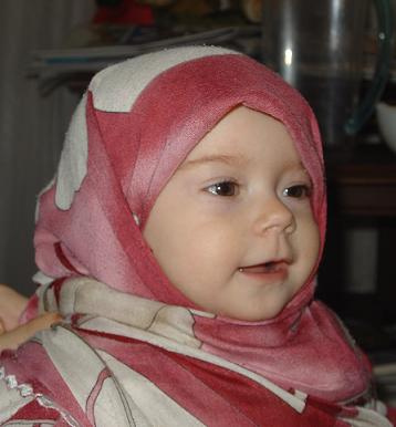 Cute Baby Images on Cute Baby Girl In Hijab