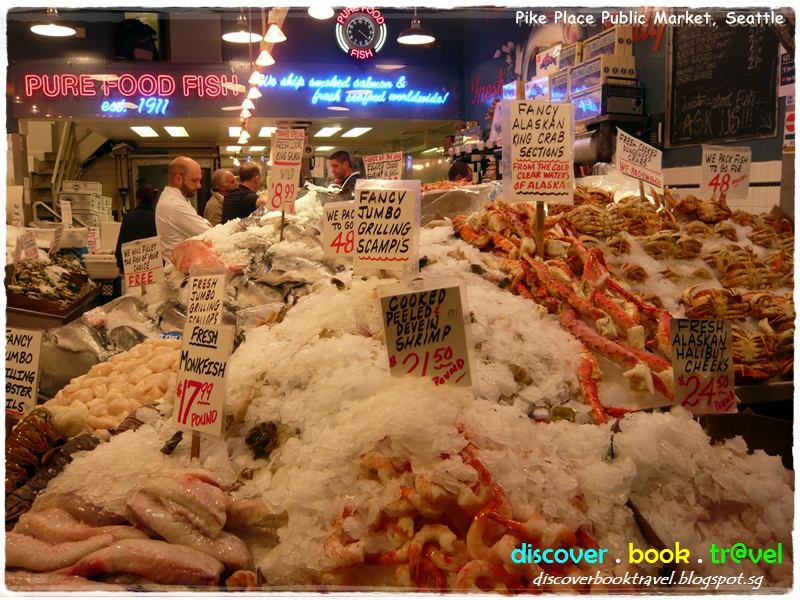 Pike place public market seattle discover book travel for Famous fish market in seattle