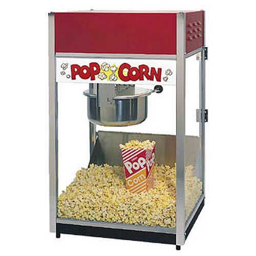 how to pop popcorn in a popcorn machine
