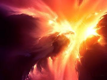 A Glória de Deus resplandece os céus!