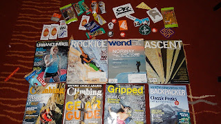 Climbing Magazine - Urban Climber, Rock & Ice, Ascent, Gripped