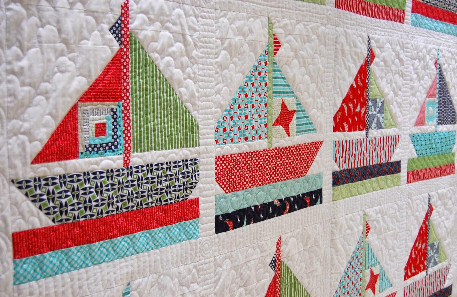 Cotton Way: NEW Daysail Patterns! YAY!!! : sailing quilt - Adamdwight.com