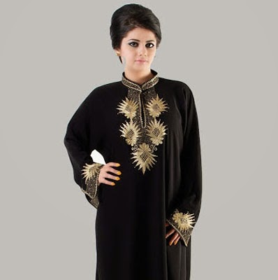 Latest Abaya Styles 2014-2015 for Girls