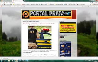 Estamos no Portal Prata.net