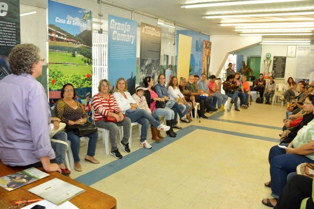 Durante o encontro, Susan anunciou que a partir da segunda quinzena de maio, os artesãos locais já deverão expor num espaço cedido pela Secretaria de Turismo
