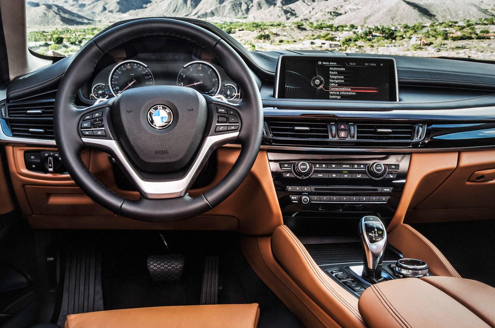 New BMW X6 Interior