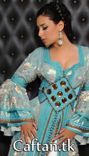 caftan marocain trop belle