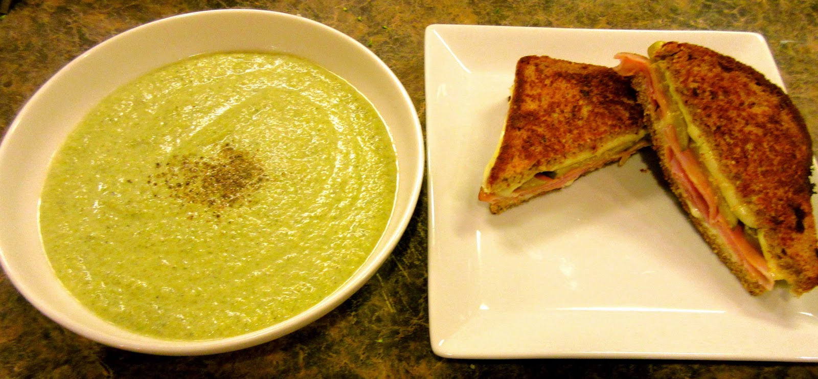 recipe: low carb ham and broccoli soup [37]