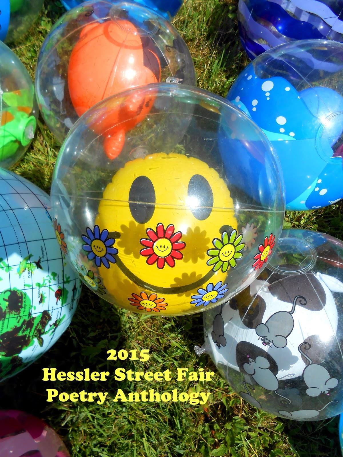 cover of Hessler Street Fair Poetry Anthology 2015