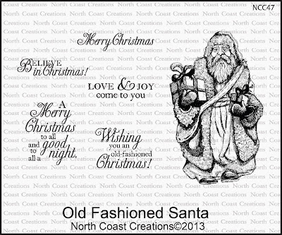 Stamps - North Coast Creations Old Fashioned Santa