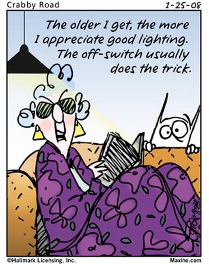Chuck's Fun Page 2: Seven Maxine Cartoons
