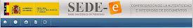 Comprobante codigo seguro de verificacion firma electronica
