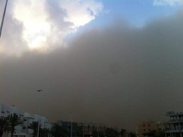 Sandstorm front
