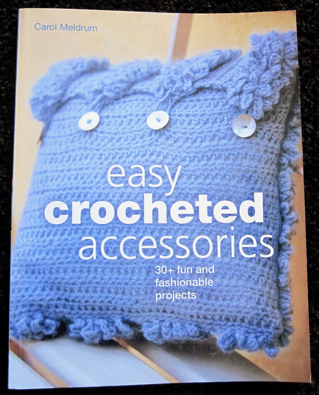 Easy Crochet Book Cover : Crochet therapy look a new book