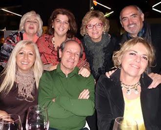 En el centro, el maestro Cerdá Gironés