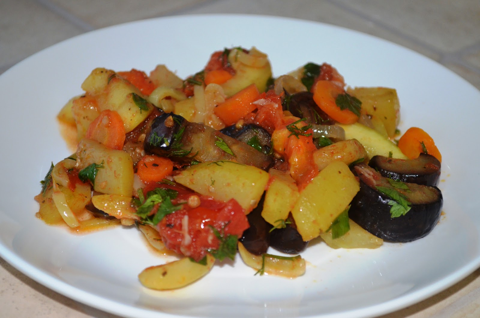 фото рецепт тушеных овощей сотэ слоями кружочками