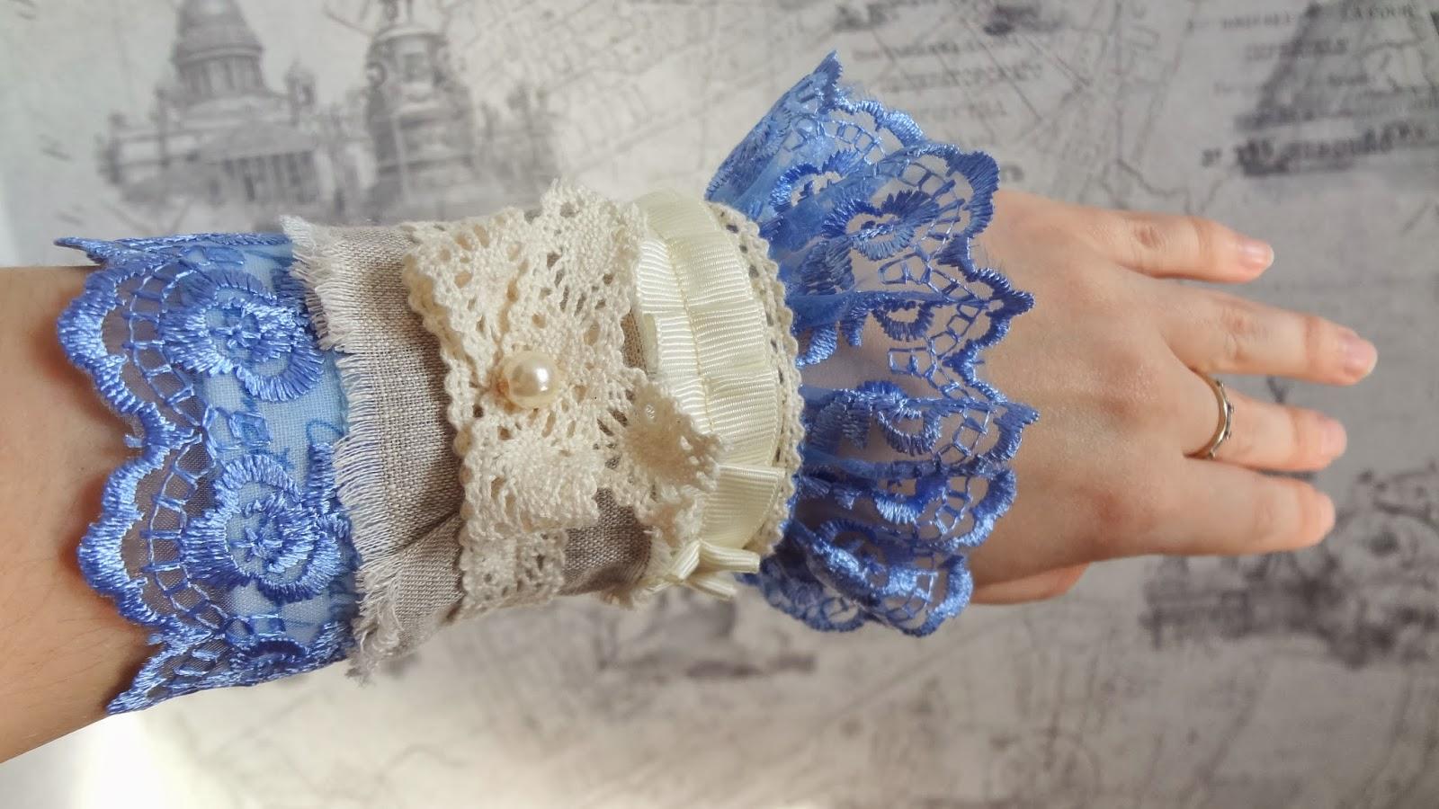 Бохо браслеты из ткани