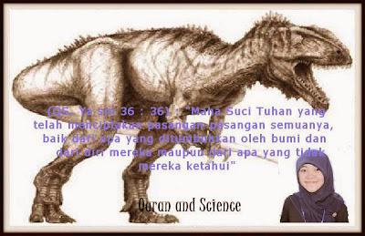 Apa yang Quran Katakan Tentang Dinosaurus?