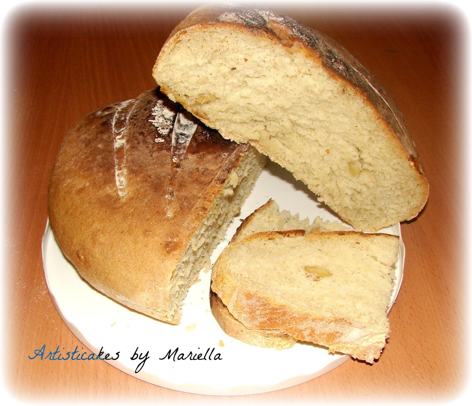 Pane alle olive e rosmarino