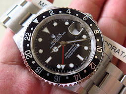 ROLEX GMT MASTER II BLACK - ROLEX 16710 - SERIAL F 2004 - MINTS CONDITION