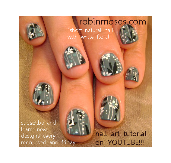 Robin moses nail art boogie shoes 70s nail art design purple boogie shoes 70s nail art design purple and blue nail art white star nail design gray with white flower nail art daisy design prinsesfo Images