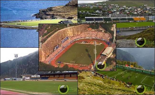 10 Stadion Sepakbola tersembunyi yang paling Indah di Dunia