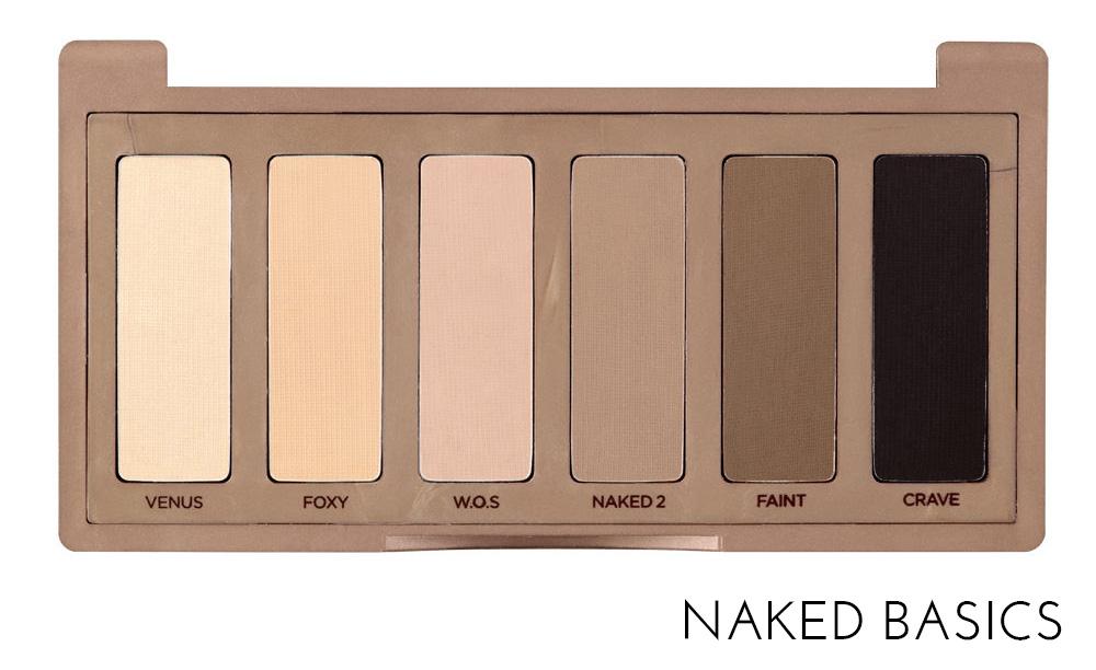 Naked 2 Basics, Naked Basics 2 palette, New Release, Urban Decay