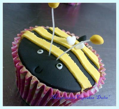 Cupcakes de abe...