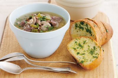 Mushroom, Lentil And Lamb Soup Recipe