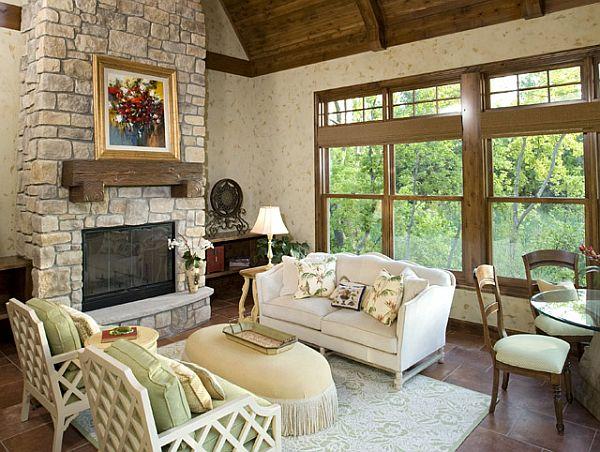 7 fotos de salas r sticas ideas para decorar dise ar y mejorar tu casa - Ideas rusticas para decorar ...