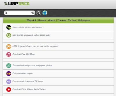 List Of Mobile Sites For Free Download For Android And Java Phones