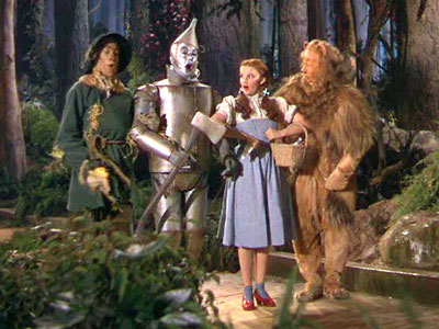 Dorothy in the wizard of oz