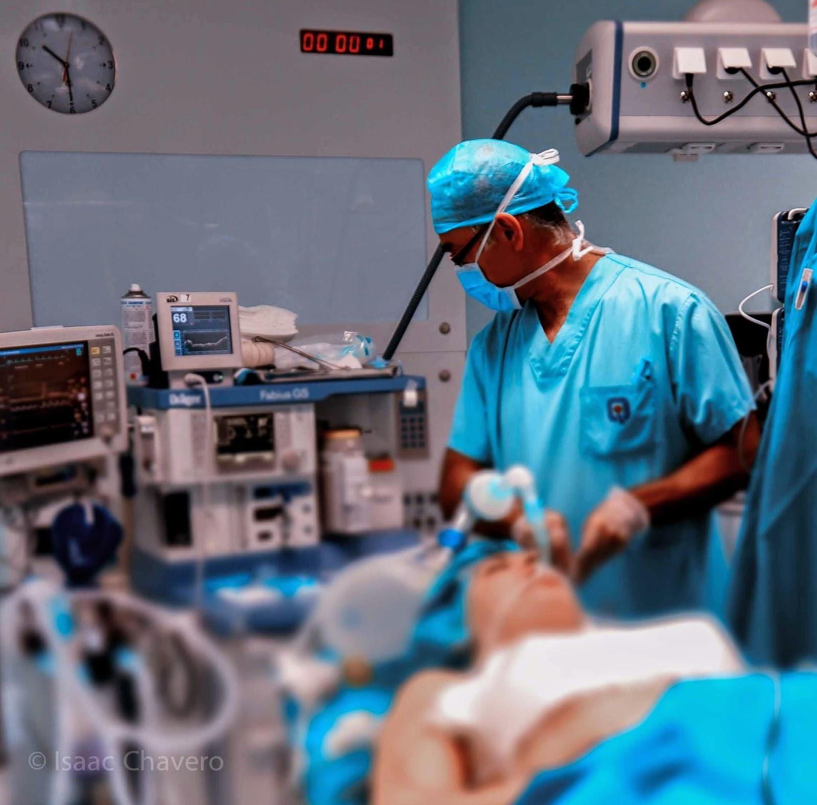 anestesia y cirugía estética en Madrid