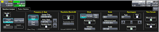 A closer look at the Spectrum Analyzer dialog box.