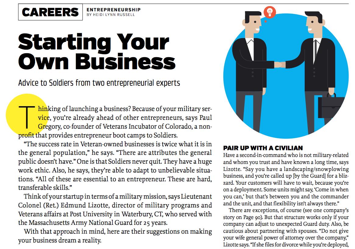 Screenshot of a GX Magazine article.